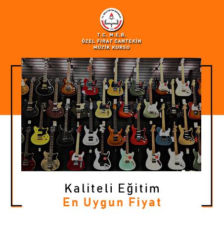 izmir elektro gitar kursları